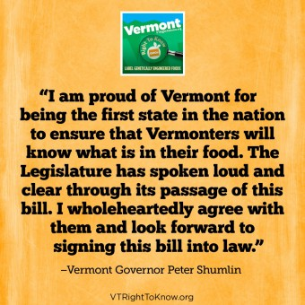 How GMO labeling came to pass in Vermont
